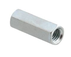 10mm STUD CONNECTOR BZP [100]