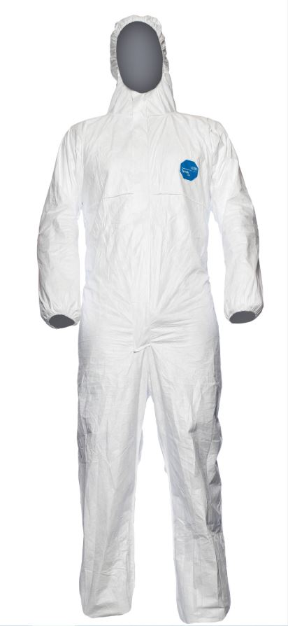 TYVEK DISPOSABLE COVERALL SUIT [TBSHXL]